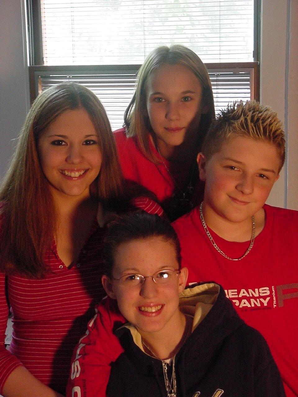 Ashley, Sara, Courtney, and I